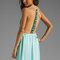 Woodleigh veve maxi dress in seafoam | revolve
