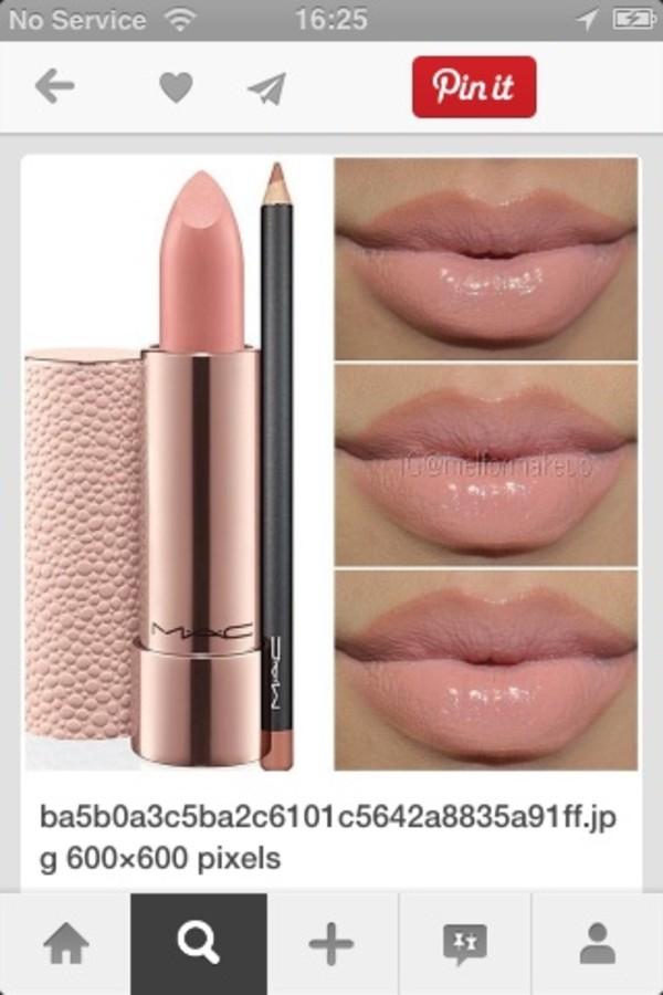 nail polish lipstick