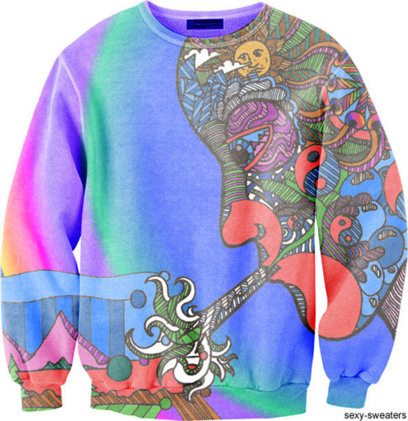 sweater sexy sweater stoner clothes