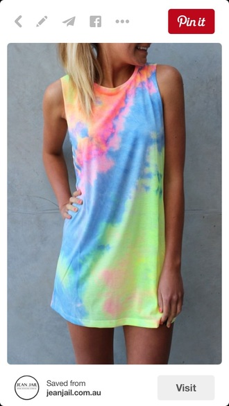 dress tie dye shift dress muscle tee dress muscle tee tie dye dress