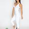 White angel bodysuit (scrunchy supplex)