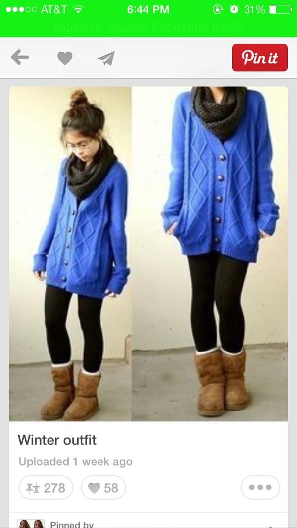 jacket blue cardigan oversized cardigan
