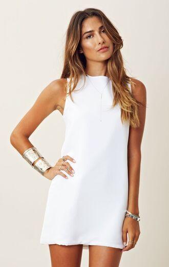 dress white dress straight dress mini dress white clothes fashion classy mini dresses shift dress