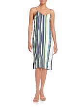 dress,stripes,spaghetti strap,summer dress,summer outfits,colorful