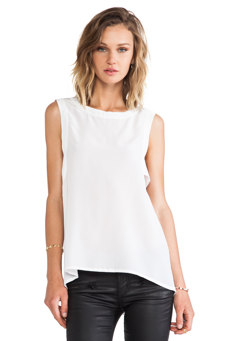 Chaser Panel Tank in White | REVOLVE