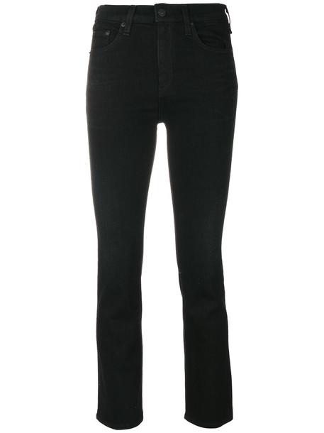 Rag & Bone /Jean jeans cropped jeans cropped women cotton black