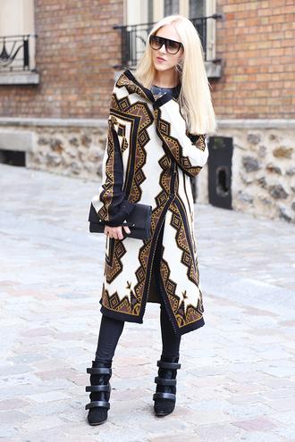 cheyenne meets chanel sweater shoes bag pants jewels sunglasses