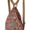 Romwe | phoenix totem print backpack, the latest street fashion