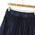 Blue Zipper Tassel Skirt -SheIn(Sheinside)