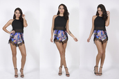 shorts,printed shorts,lace shorts,spring shorts,colourful shorts,spring 2013,hig waisted shorts