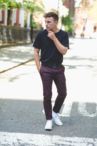 scout sixteen pants t-shirt shoes menswear
