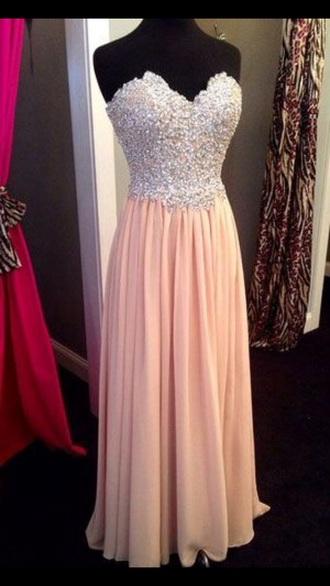 dress light pink style sweetheart dresses