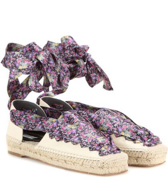 Balenciaga espadrilles lace shoes