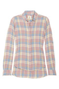 MiH Jeans Plaid brushed-cotton shirt - 60% Off Now at THE OUTNET
