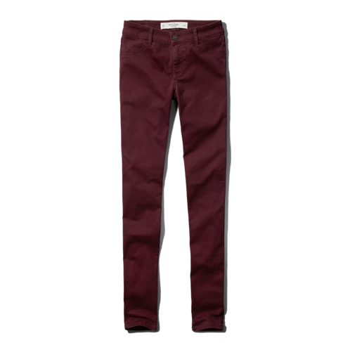 A&f mid rise jegging