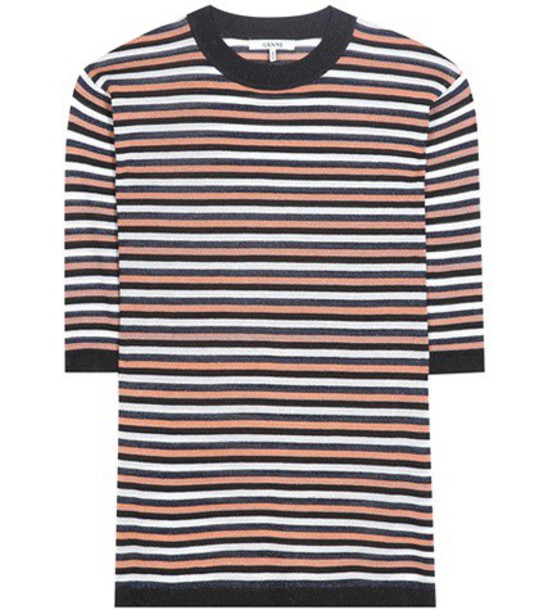 34a3b8de Ganni Suki Glitter T-shirt - Wheretoget