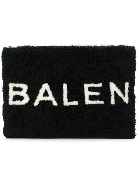 Balenciaga women pouch black bag