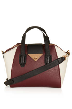 Colour Block Mini Evian Bag - Topshop