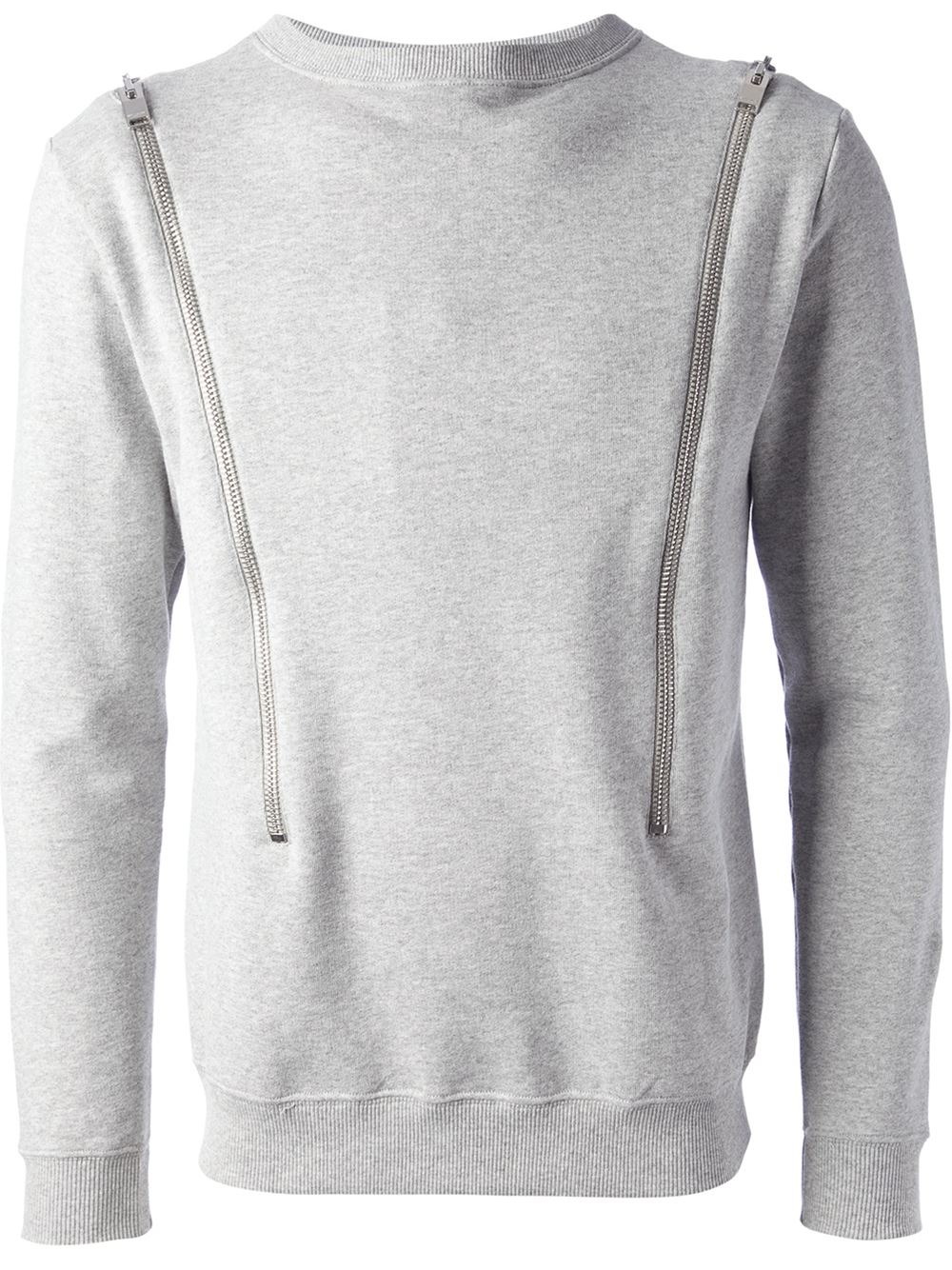 Saint Laurent Horizontal Zip Sweater - - Farfetch.com