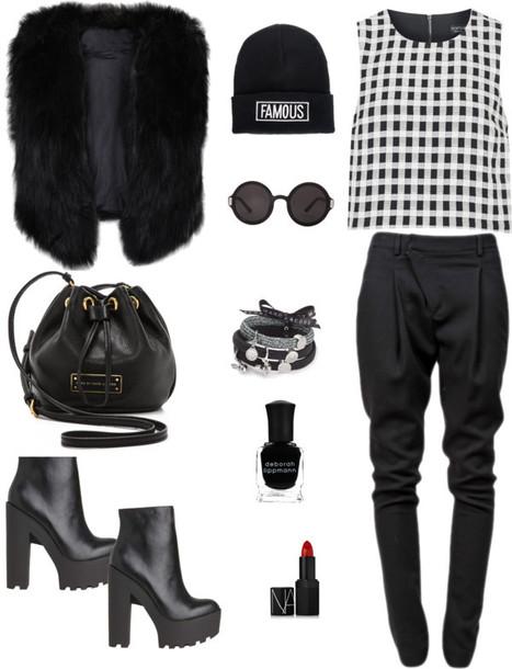 zaza's blog t-shirt jacket pants shoes bag hat nail polish