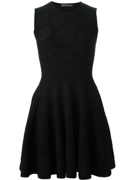 dress alexander mcqueen little black dress