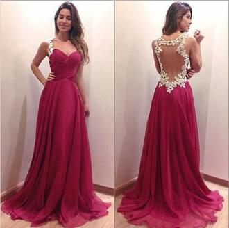 lace back red dress prom dress ball ball gown dress full length red carpet dress formal prom dresses formal dresses evening