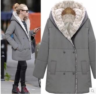 coat cotton padded coat jacket down jacket winter coat hooded down jacket clothese