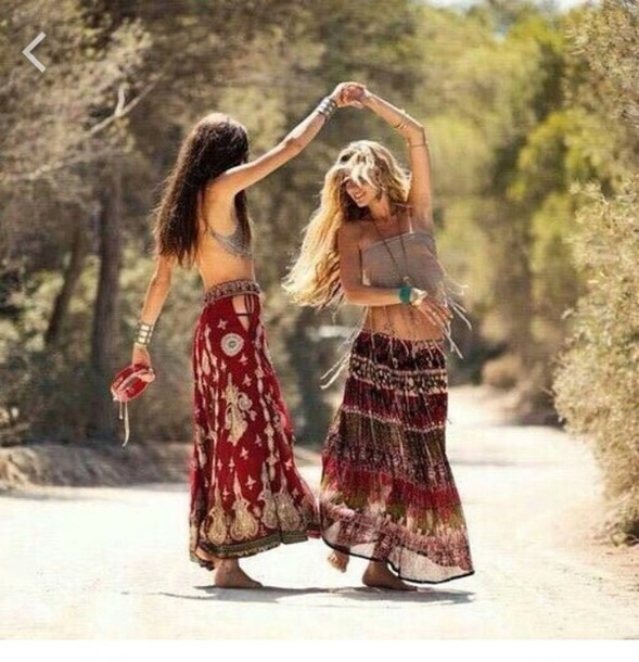 Girl Hippies Outfits