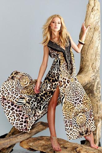 dress silk long dress luxury parides bikiniluxe