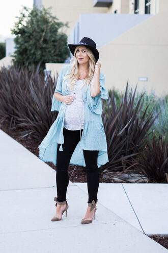 raspberry glow blogger jeans jewels shoes maternity pumps hat black jeans skinny jeans