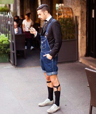 jumpsuit men menswear overalls clothing