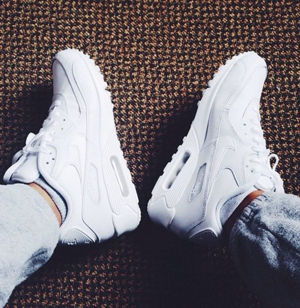 shoes nike white air max