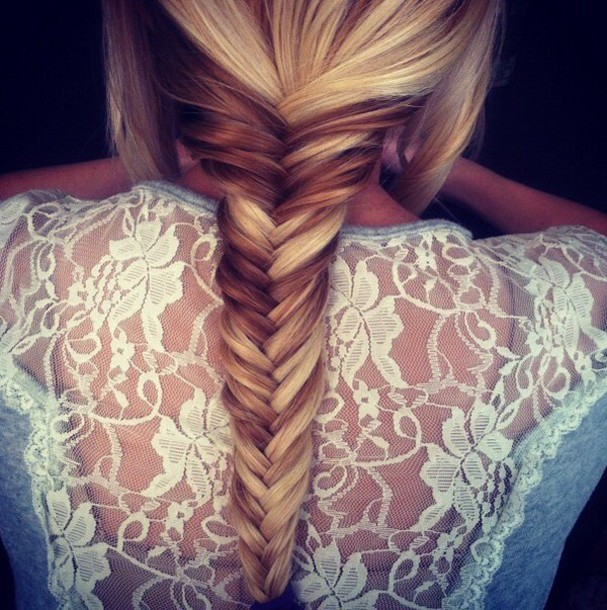 top hairstyles lace top