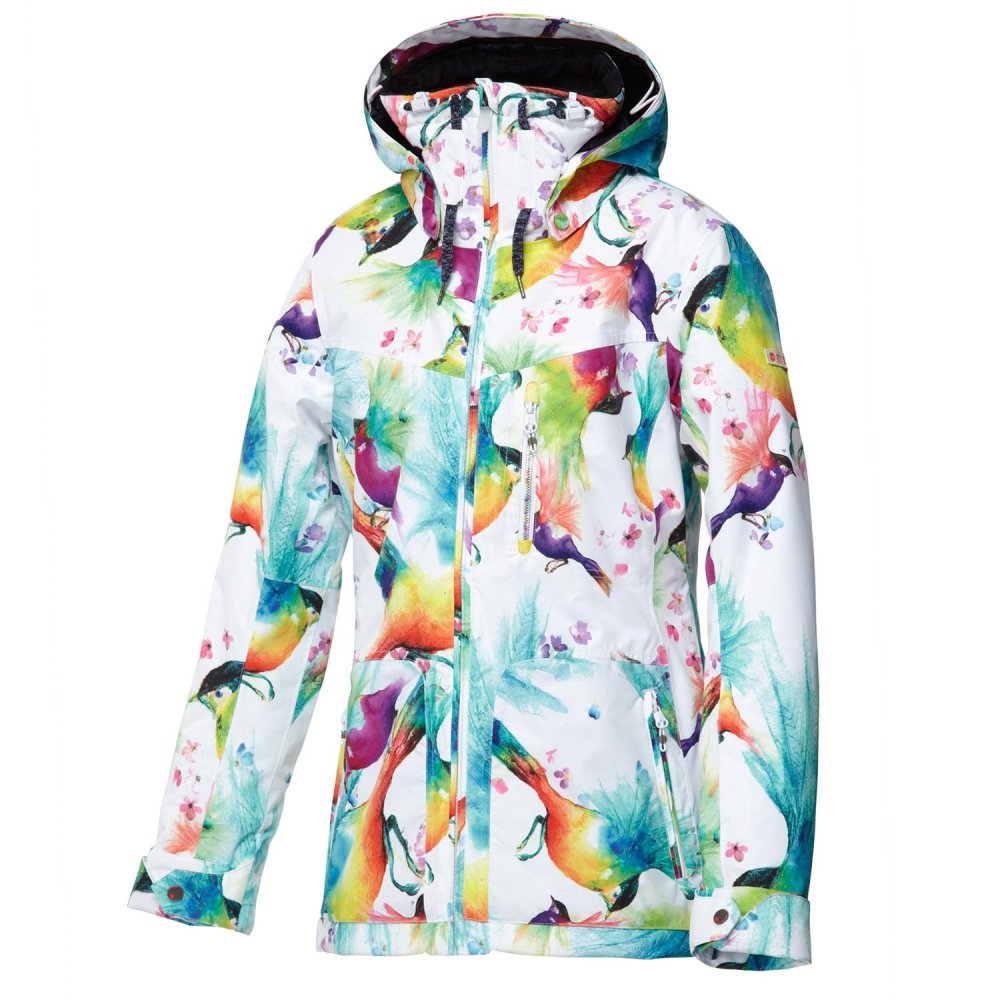 Roxy wildlife insulated snowboard jacket (women's)