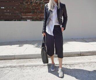 style lime light blogger pants jacket shirt bag