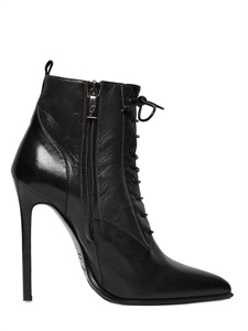 LUISAVIAROMA.COM - GIBELLIERI - 120MM NAPPA LEATHER LACE UP BOOTS