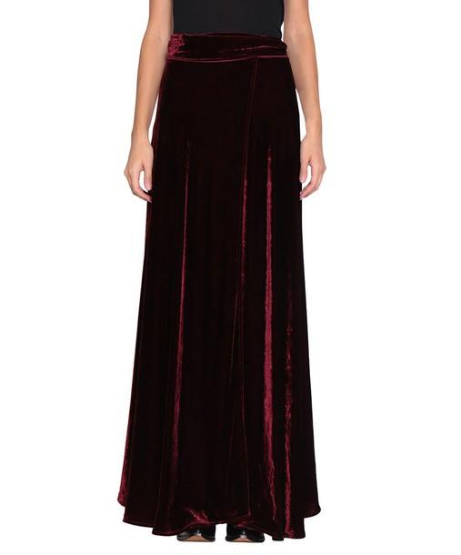 WANDERING skirt velvet skirt velvet