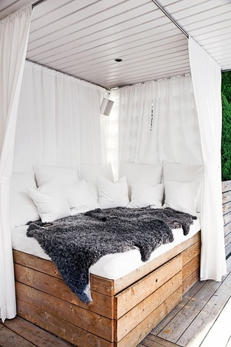 home accessory white bedroom bedding tumblr fur fashion