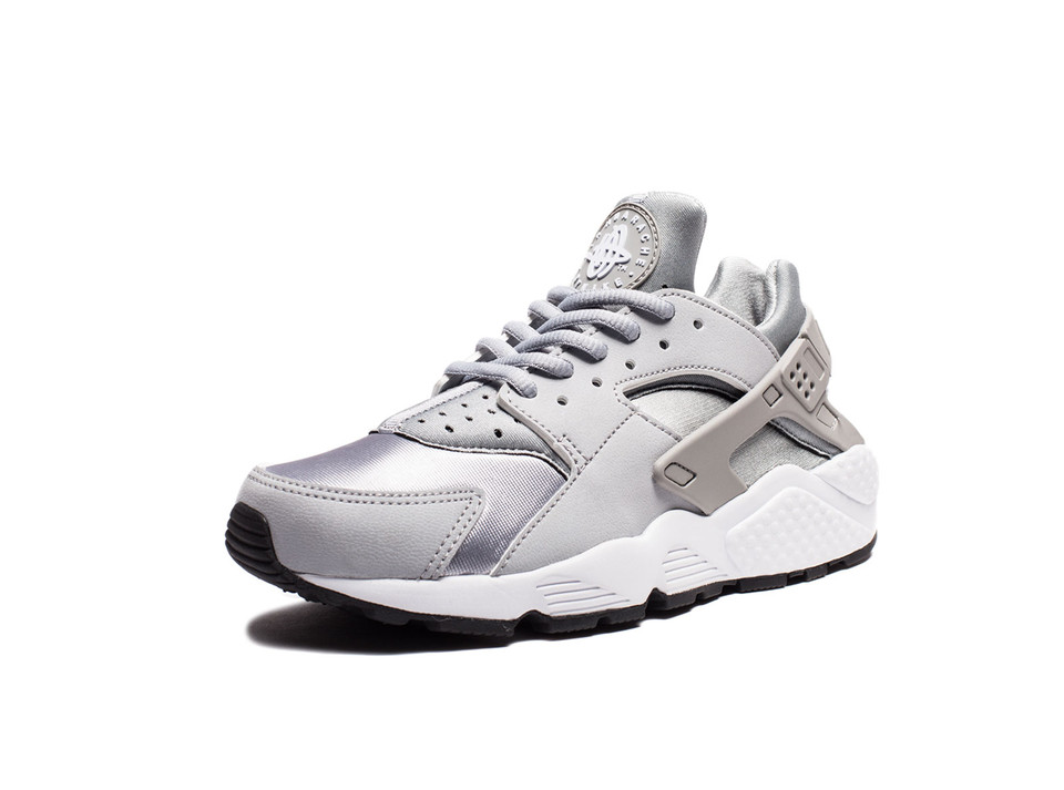 4ea5c7c245d0 NIKE WOMEN S AIR HUARACHE RUN - WOLF GREY WHITE BLACK