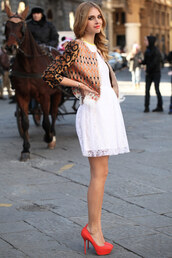 chiara ferragni,dress,shoes,jacket