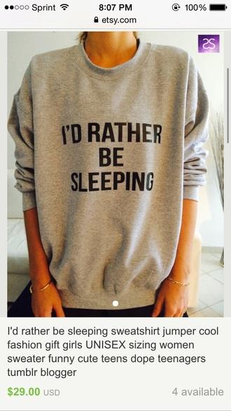 sweater lazy day