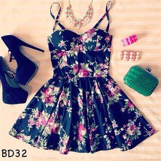 dress clothes bustier dress floral floral dress