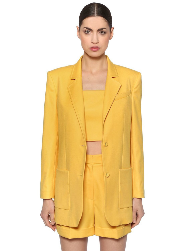 RACIL Cool Wool Blazer in yellow