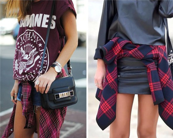 flannel plaid shirt cardigan