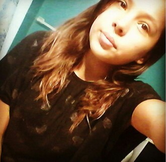 shirt black crop top queen of hearts cute