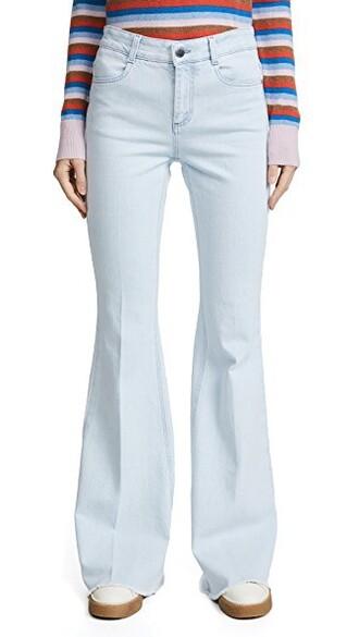 jeans flare jeans flare denim blue