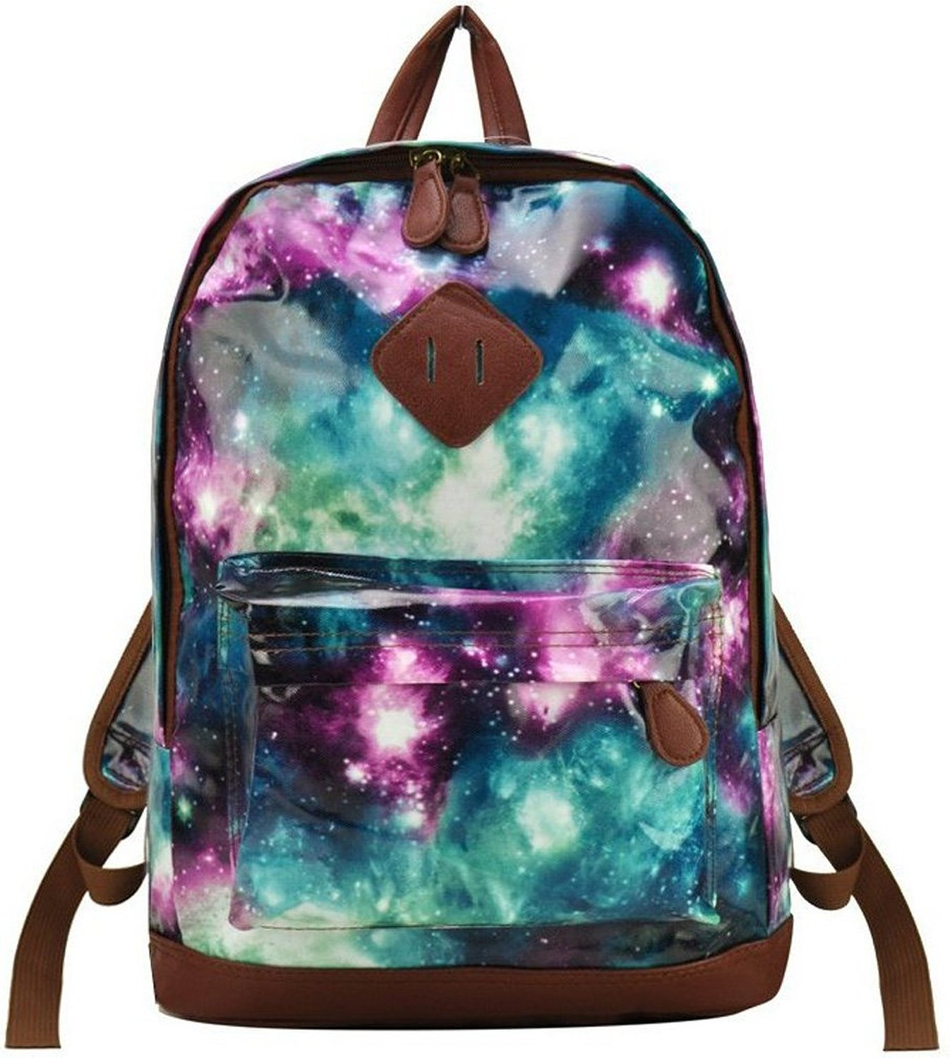 Fashion Outer Space Galaxy Charming Girl Backpack School Rucksack ...