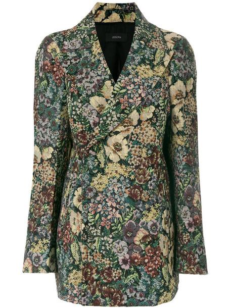 Joseph jacket vintage women tapestry cotton