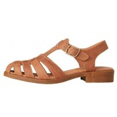 shoes,leather sandals,leather wedge,leather,brown,brown sandals,sandals