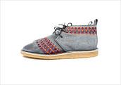 grey shoes,shoes,aztec shoes